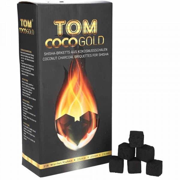 Tom Cococha Gold ~ Shisha charcoal ~ 3kg